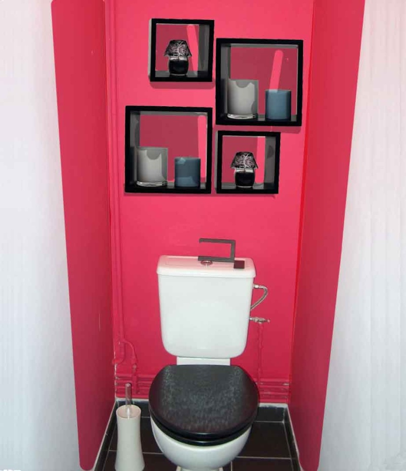 comment decorer les wc. Black Bedroom Furniture Sets. Home Design Ideas
