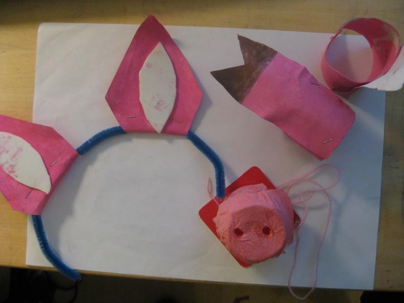 Cochon d guisement - Comment faire un petit sapin en carton ...