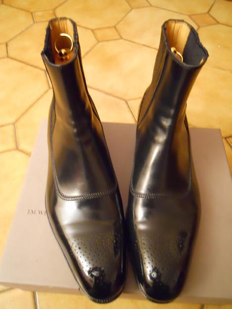 Dans la familles boots, je demande la Weston Savile 580.