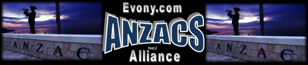The Alliance of Anzacs