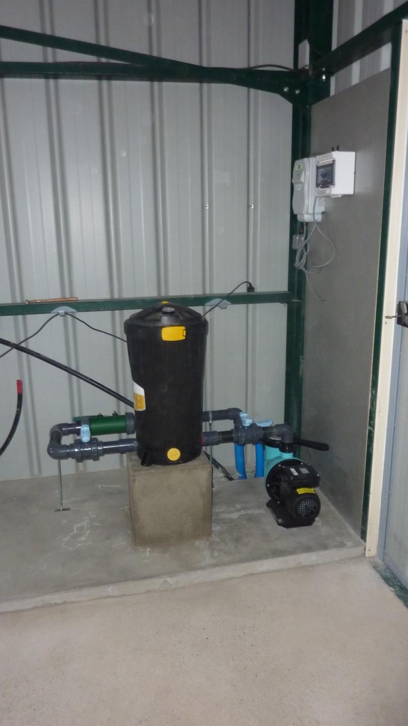 Pompe avec filtre cartouche for Air dans la pompe piscine