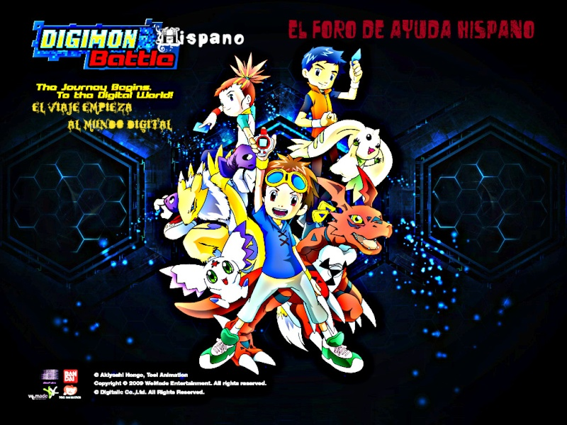 Digimon Battle  Hispano
