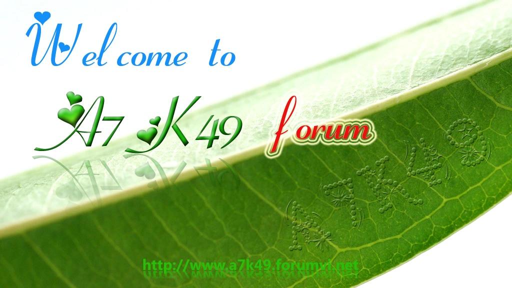 Diễn đàn A7k49 THPT Đô Lương 1
