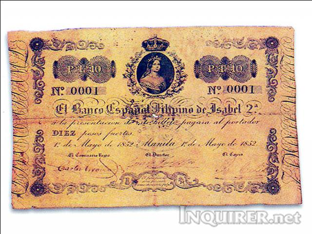 banco filipino. Banco Español Filipino de