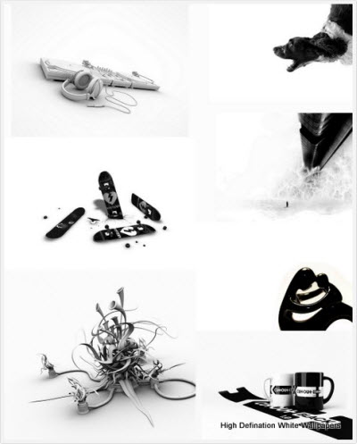 115 High Defination Black & White Wallpapers