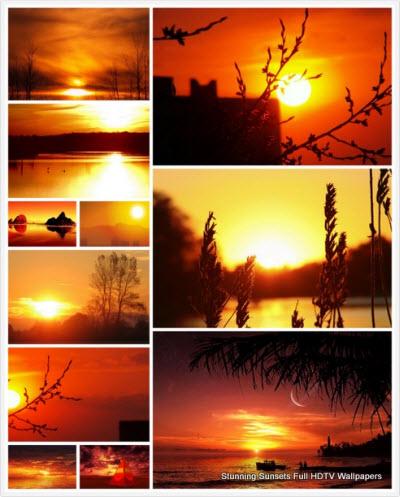 [HF] 120 Stunning Sunsets Full HDTV Wallpapers