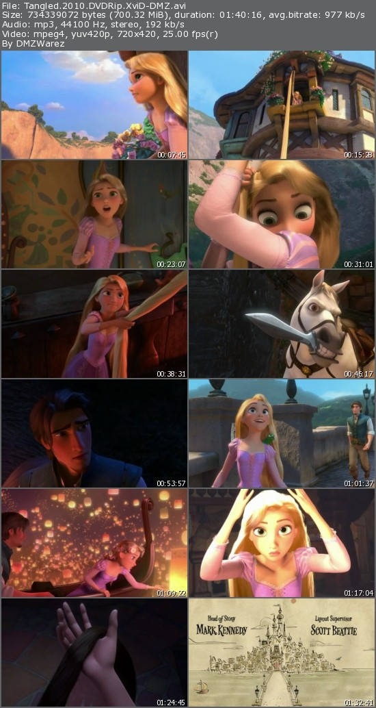 Tangled (2010) DVDRip XviD-DMZ