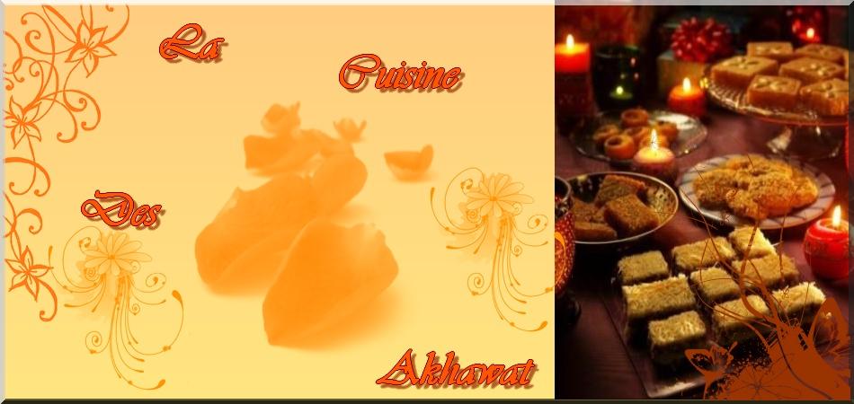 Cuisine du Monde Orientale des Akhawates .