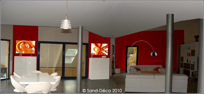 couleur orange pour grand mur mal foutu dans salon page 2. Black Bedroom Furniture Sets. Home Design Ideas