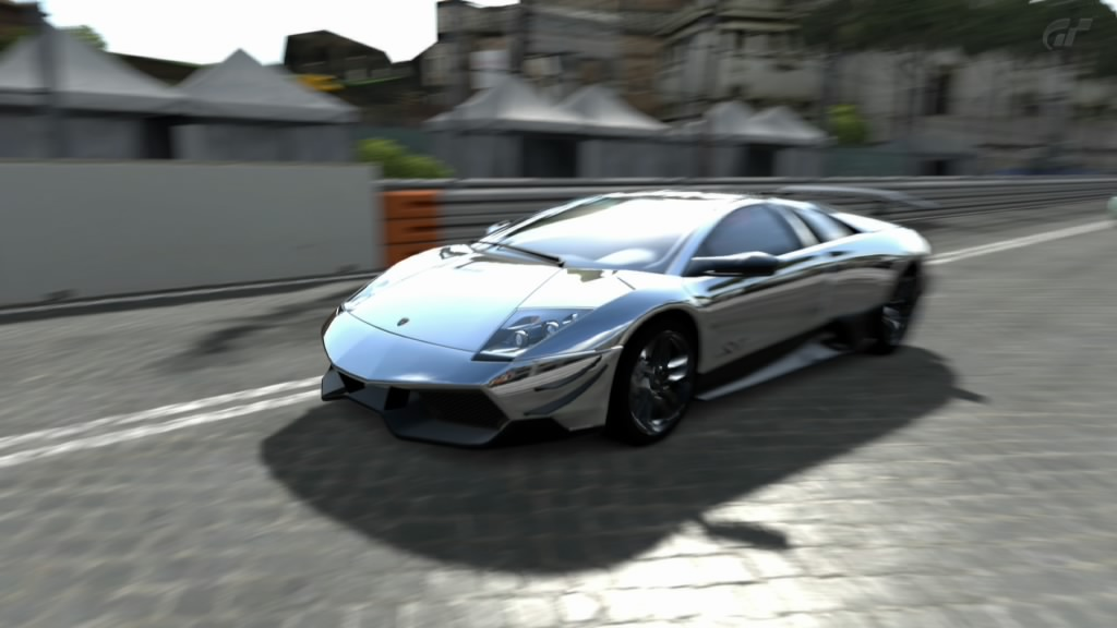Pim's Photo Gallery My new Lamborghini, with Chrome paint!