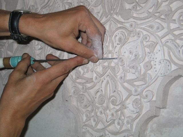 الفن المغربى وروعة النحت على الجبس 100_0010.jpg