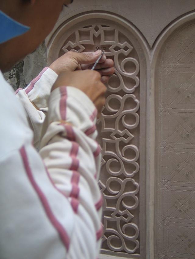الفن المغربى وروعة النحت على الجبس plaste10.jpg