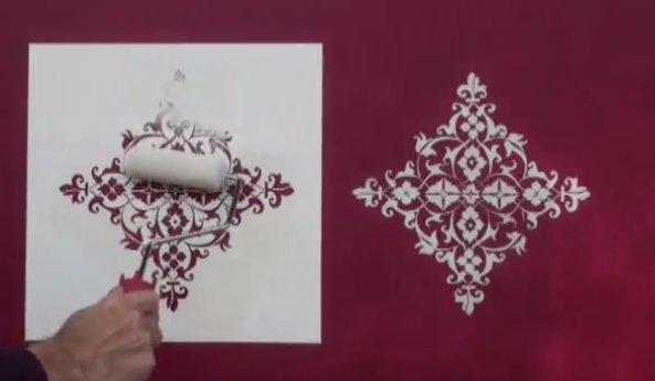 screen17 شرح عمل روسومات على الحائط بطريقة الإستنسل