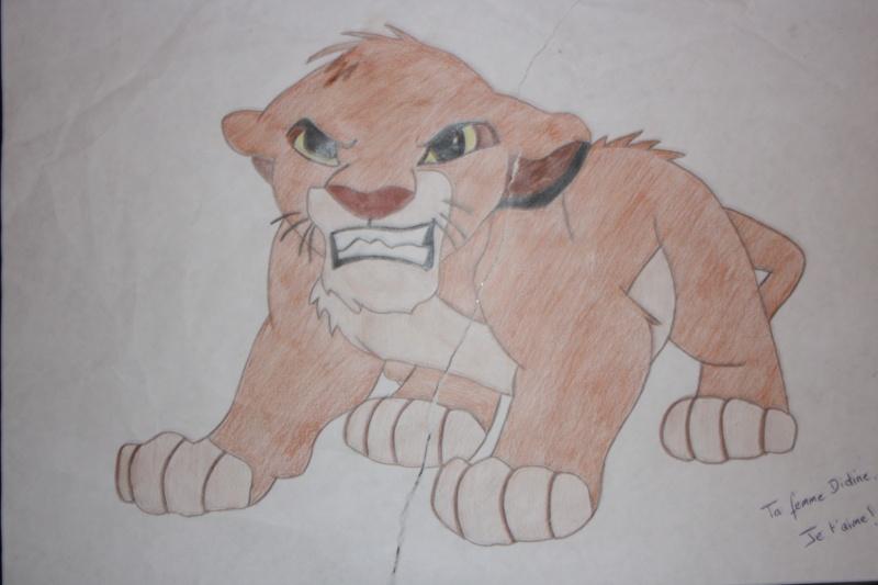 Le roi lion amandine62 - Dessin simba roi lion ...